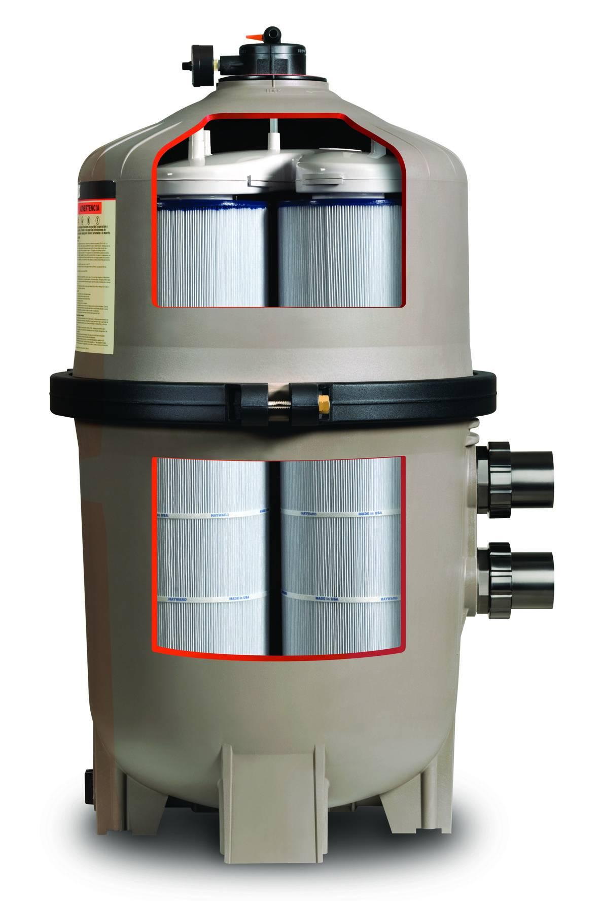 Filtre a cartouches pour piscine hayward swimclear multi - Cartouche filtre piscine magiline ...